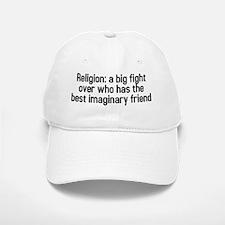Religion a big fight (TS-B) Baseball Baseball Cap