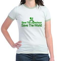 Save The Leprechaun Save The World T