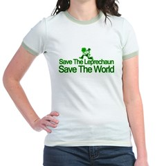 Save The Leprechaun Save The World T