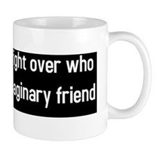 Religion a big fight (BS-W) Mug