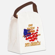 Put God Back Canvas Lunch Bag