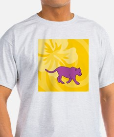 Panther Sticky Notepad T-Shirt