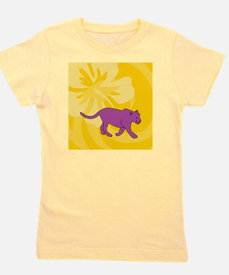 Panther Sticky Notepad Girl's Tee