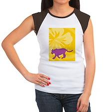Panther Twin Duvet Women's Cap Sleeve T-Shirt