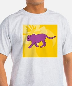 Panther Wine Label T-Shirt