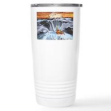 A Crab @ Thors Well, Oregon Travel Mug