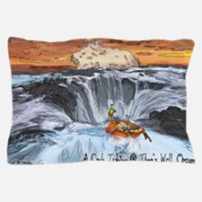 A Crab @ Thors Well, Oregon Pillow Case