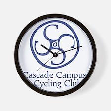 Cascade Campus Cycling Club Wall Clock