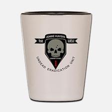 1st Zombie Hunters Shot Glass
