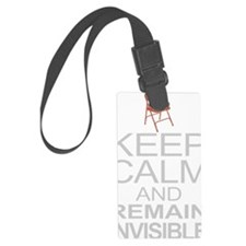 Obama Empty Chair - Remain Invis Luggage Tag