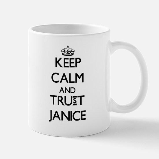 Keep Calm and trust Janice Mugs