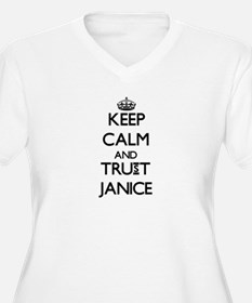 Keep Calm and trust Janice Plus Size T-Shirt