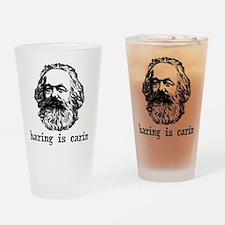 sharing Drinking Glass