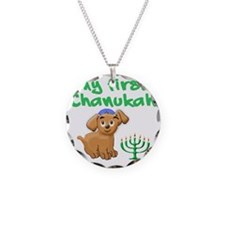 My first Chanukah Necklace