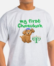My first Chanukah T-Shirt