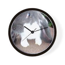 English Lop Bunnie Wall Clock