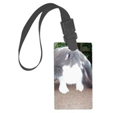 English Lop Bunnie Luggage Tag