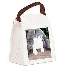 English Lop Bunnie Canvas Lunch Bag
