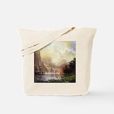 Albert Bierstadt Sierra Nevada Tote Bag