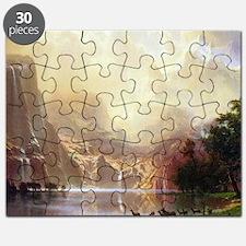 Albert Bierstadt Sierra Nevada Puzzle