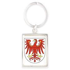 Brandenburg Wappen Portrait Keychain