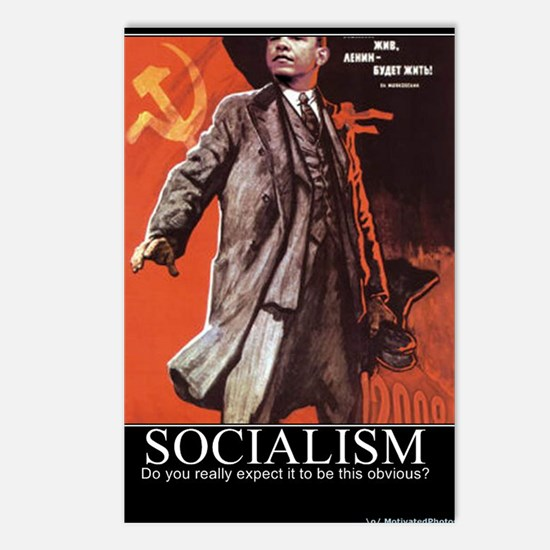 Socialism - What did you  Postcards (Package of 8)