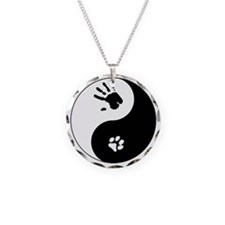 Cat Therian Ying Yang Necklace