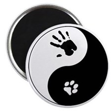 Cat Therian Ying Yang Magnet