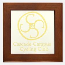 Cascade Campus Cycling Club Framed Tile