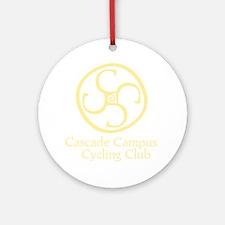 Cascade Campus Cycling Club Round Ornament