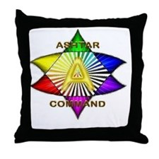 Ashtar Logo 7 Throw Pillow