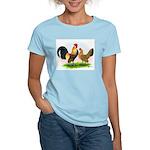 Dutch Bantams Blue Lt Brn Women's Light T-Shirt