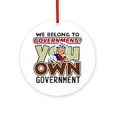 youownplain2 Round Ornament