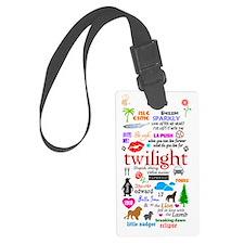 Twilight Large Luggage Tag