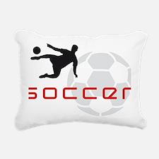 soccer player star Rectangular Canvas Pillow