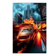 Night Rider Postcards (Package of 8)