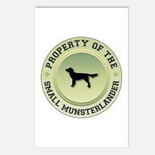 Munsterlander Property Postcards (Package of 8)