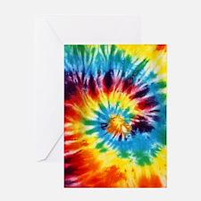 Tie Dye! Greeting Card