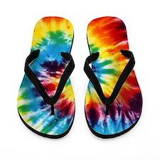 Tie Dye! Flip Flops