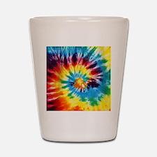 Tie Dye! Shot Glass