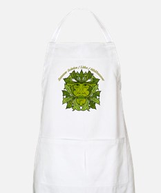 The Greenman of the Summer Solstice BBQ Apron