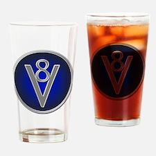 v8 Drinking Glass