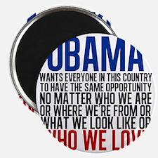 Obama Equality Magnet