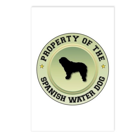 Water Dog Property Postcards (Package of 8)