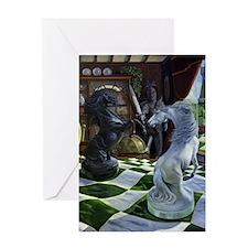 Knights Magic Greeting Card