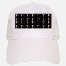 Blackbeard Pirate Flage Edward Teach Pattern Baseball Baseball Cap