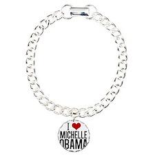 I Love Michelle Obama Bracelet