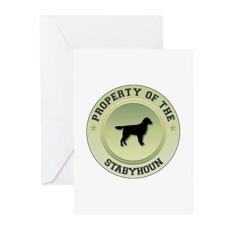 Stabyhoun Property Greeting Cards (Pk of 10)