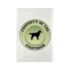 Stabyhoun Property Rectangle Magnet (100 pack)