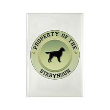Stabyhoun Property Rectangle Magnet